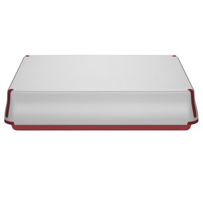 Prepco Large Baking Sheet With Serving Cover In Red
