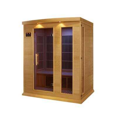 MAXXUS 3 Person Far Infrared Carbon Sauna at Sears.com
