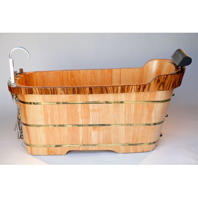 59 x 27 Soaking Bathtub