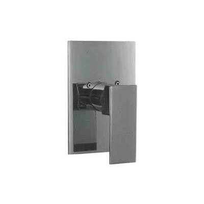 Shower Valve Mixer with Square Lever Handle Finish: Polished Chrome