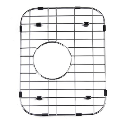 Small Solid Stainless Steel Kitchen Sink Grid