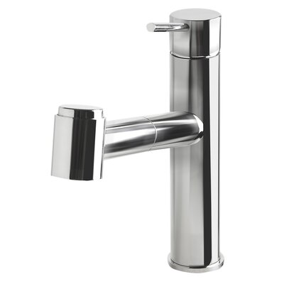 Kitchen Faucet with Pull-Out Spray Finish: Polished