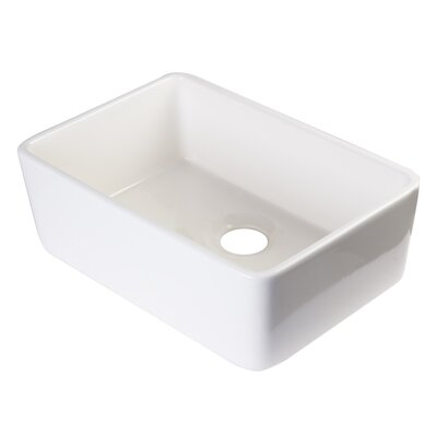 23 x 16 Undermount Kitchen Sink Finish: Biscuit