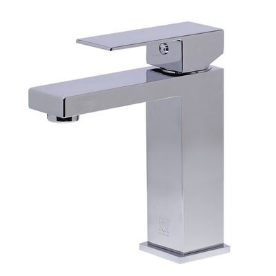 Single Handle Bathroom Faucet Finish: Polished Chrome