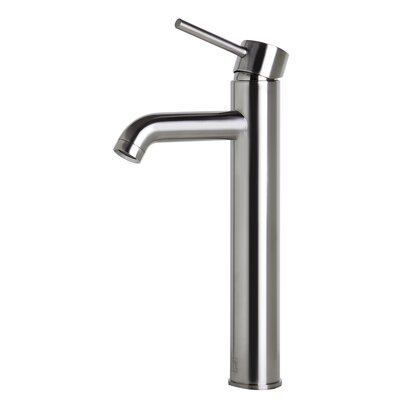 Single Handle Bathroom Faucet II Finish: Brushed Nickel