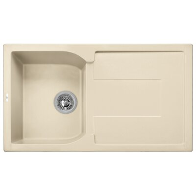 Granite Composite 34 x 19 Drop-In Kitchen Sink
