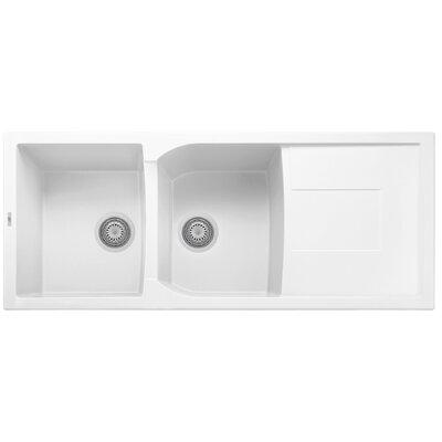 Granite Composite 46 x 19.75 Drop-In Kitchen Sink
