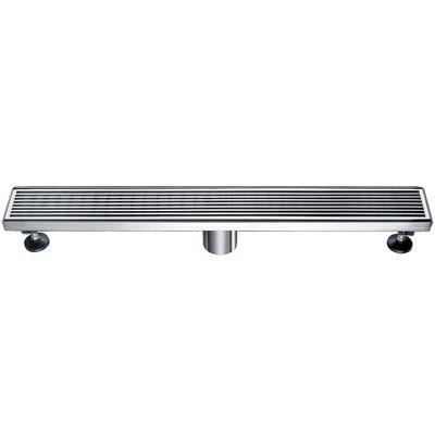 Stainless Steel 2 Grid Shower Drain