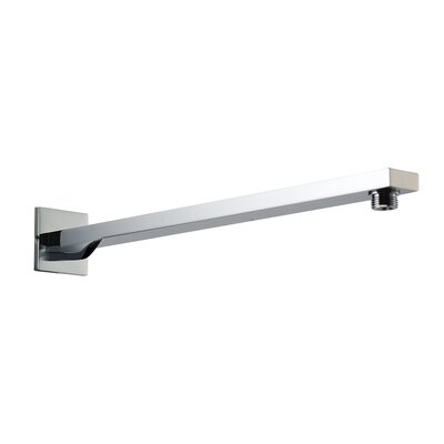 Square Wall Mounted 20 Shower Arm Finish: Polished Chrome