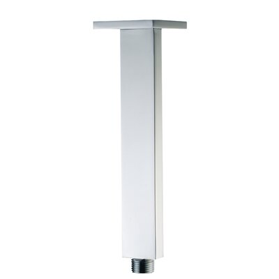 9 Square Ceiling Mounted Shower Arm Finish: Polished Chrome