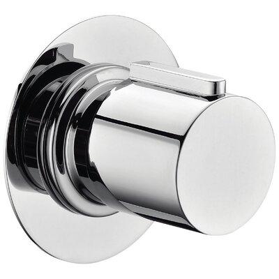 Round 3 Way Shower Diverter Finish: Polished Chrome