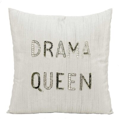 Mikonos Throw Pillow Color: White