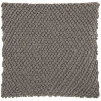 Bernville Throw Pillow Color: Gray