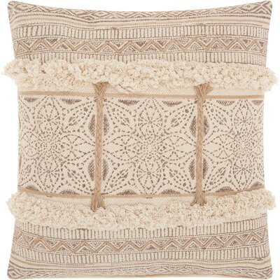 Lifestyles 100% Cotton Throw Pillow