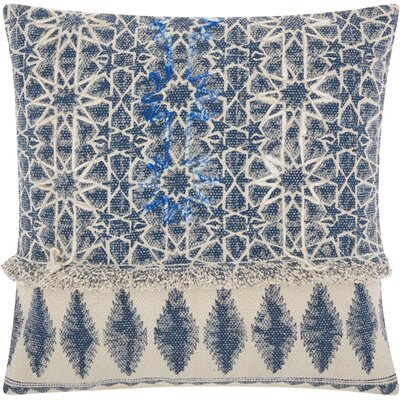 Emile Bohemian 100% Cotton Throw Pillow