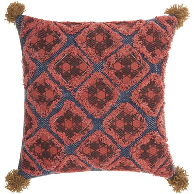 Emile 100% Cotton Throw Pillow