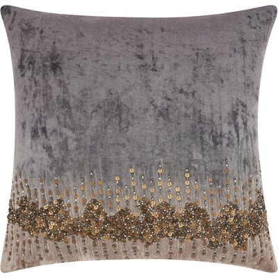 Borderview Cotton Throw Pillow