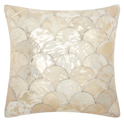 Sutton Leather Throw Pillow
