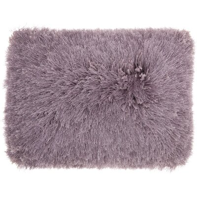 Boredale Shag Lumbar Pillow Color: Lavender