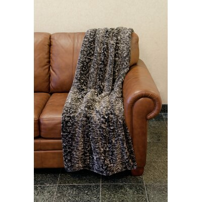 Strafford Faux Fur Throw