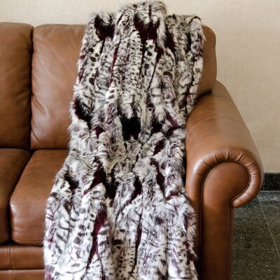 Casey Faux Fur Throw