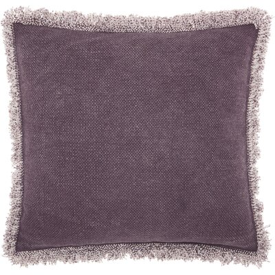 Ottilie Cotton Throw Pillow Color: Purple