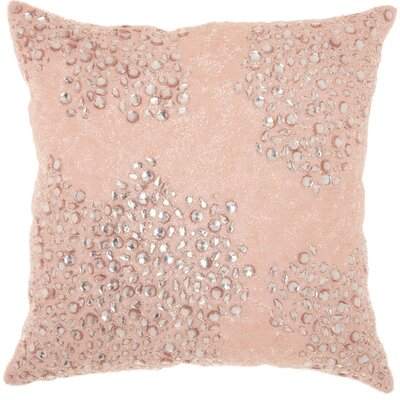Saltash Throw Pillow Size: 20 H x 20 W, Color: Rose