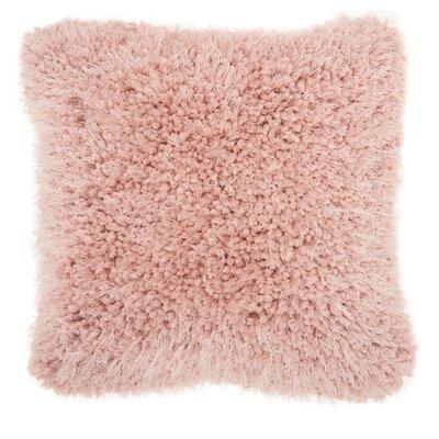 Breuer Throw Pillow Color: Rose