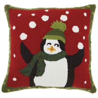 Home for the Holidays Square Indoor Throw Pillow
