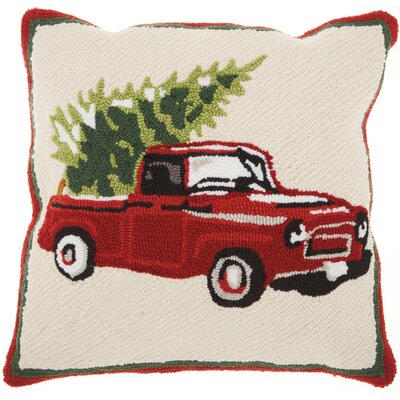 Home for the Holidays Modern Throw Pillow