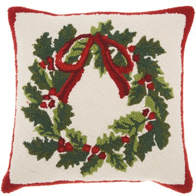 Home for the Holidays Indoor Throw Pillow