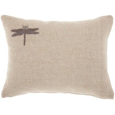 Adriana Contemporary Linen Lumbar Pillow