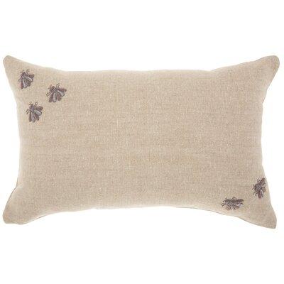 Adriana Linen Lumbar Pillow