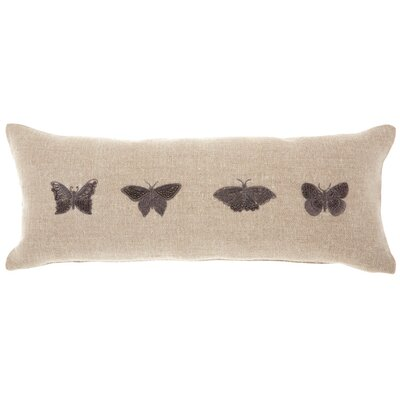 Adriana Modern Linen Lumbar Pillow