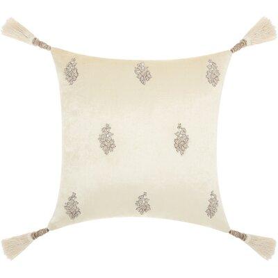 Champaign Modern Velvet Throw Pillow