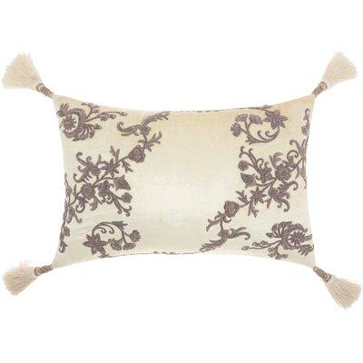 Champaign Velvet Lumbar Pillow