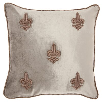 Champaign Contemporary Velvet Throw Pillow