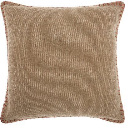 Hegewisch Mercury Cotton Throw Pillow Color: Beige