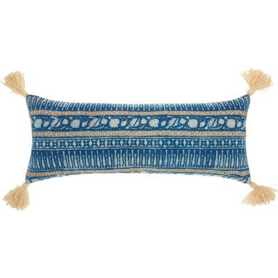Mika Modern Cotton Lumbar Pillow