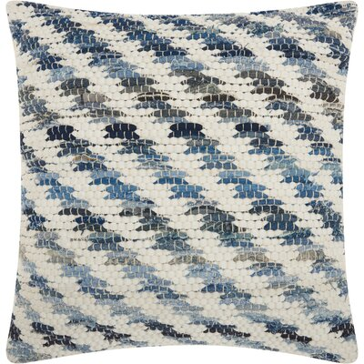 Marique Square Cotton Throw Pillow