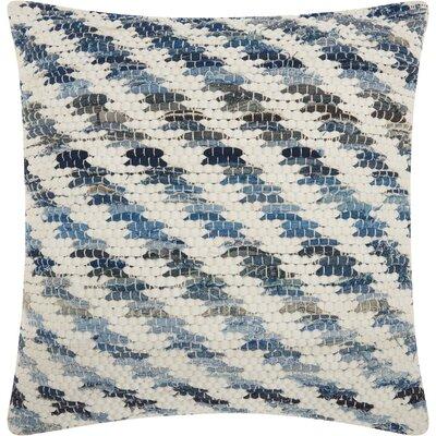 Marique Square Cotton Throw Pillow