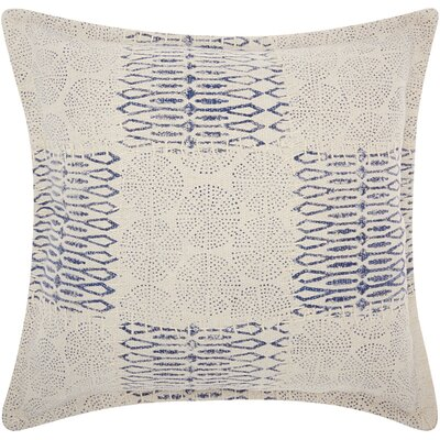 Mika Modern Cotton Throw Pillow
