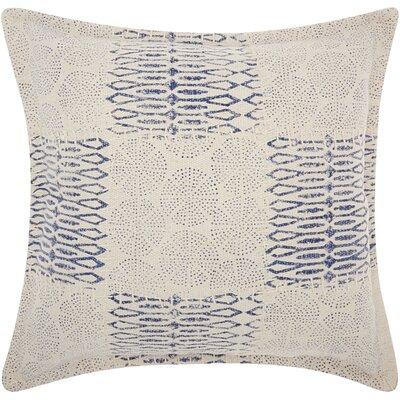 Mika Modern Cotton Throw Pillow