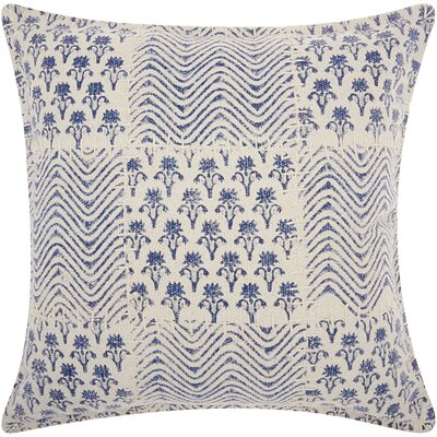 Mika Contemporary Cotton Throw Pillow