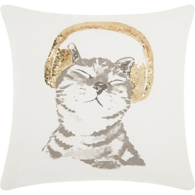 Eureka Cotton Throw Pillow