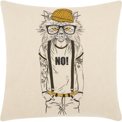 Khader Cotton Throw Pillow