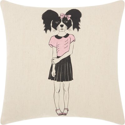 Cas Cotton Throw Pillow