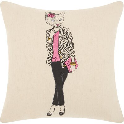 Ismaeil Cotton Throw Pillow