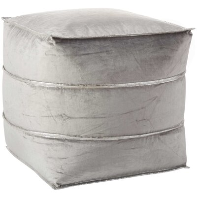 Ruiz Ottomans Color: Light Grey