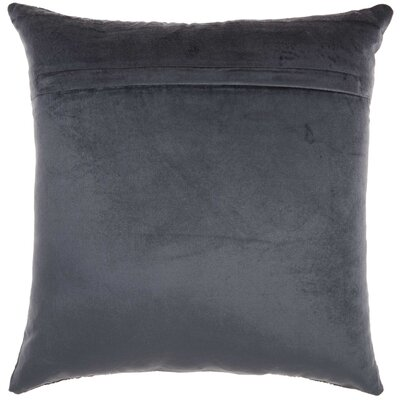 Midnight Velvet Throw Pillow Color: Midnight